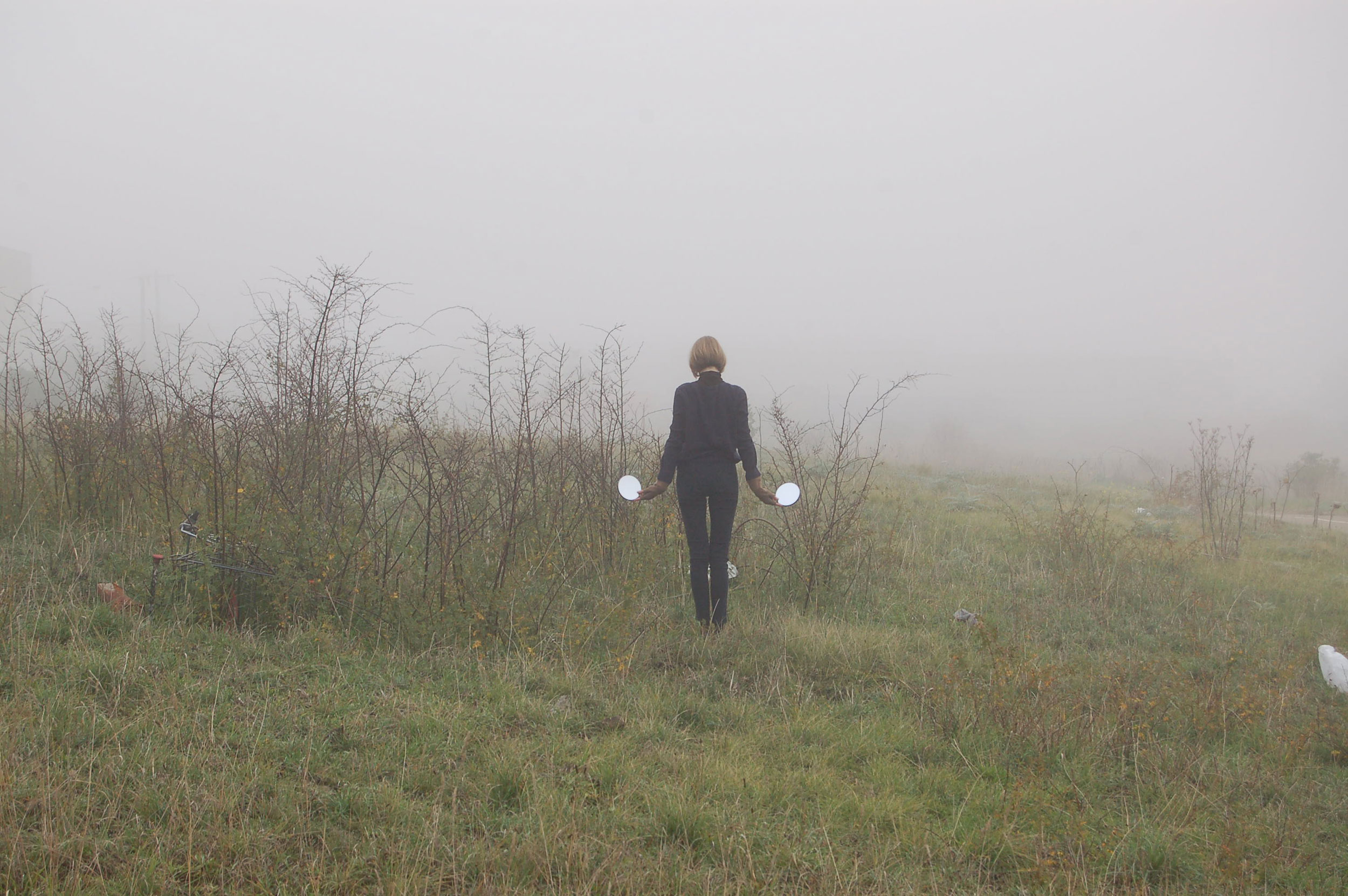 Fog Signal , performance documentation, digital photograph, 2015