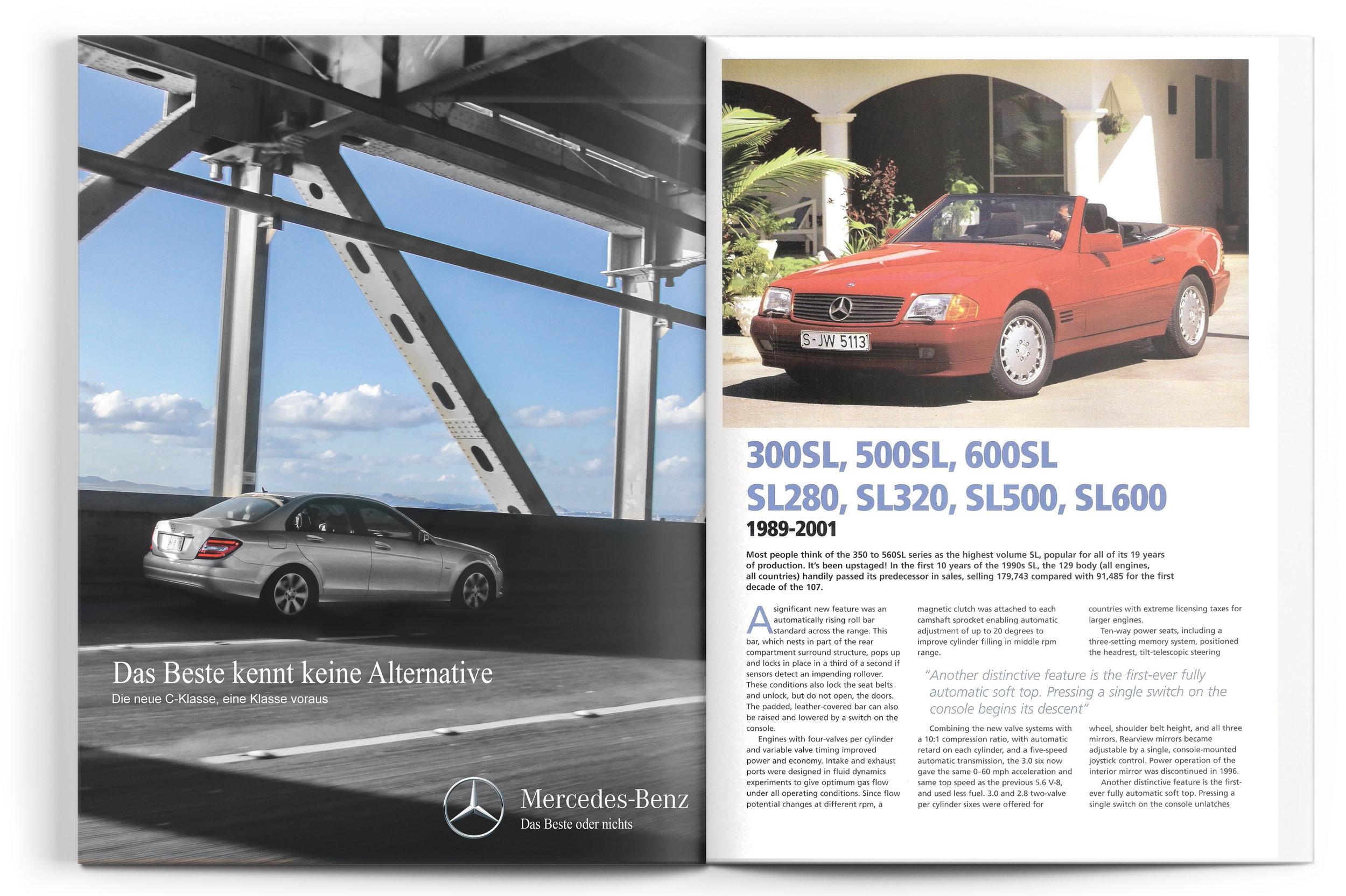 Mercedes-Benz C-Class Ad