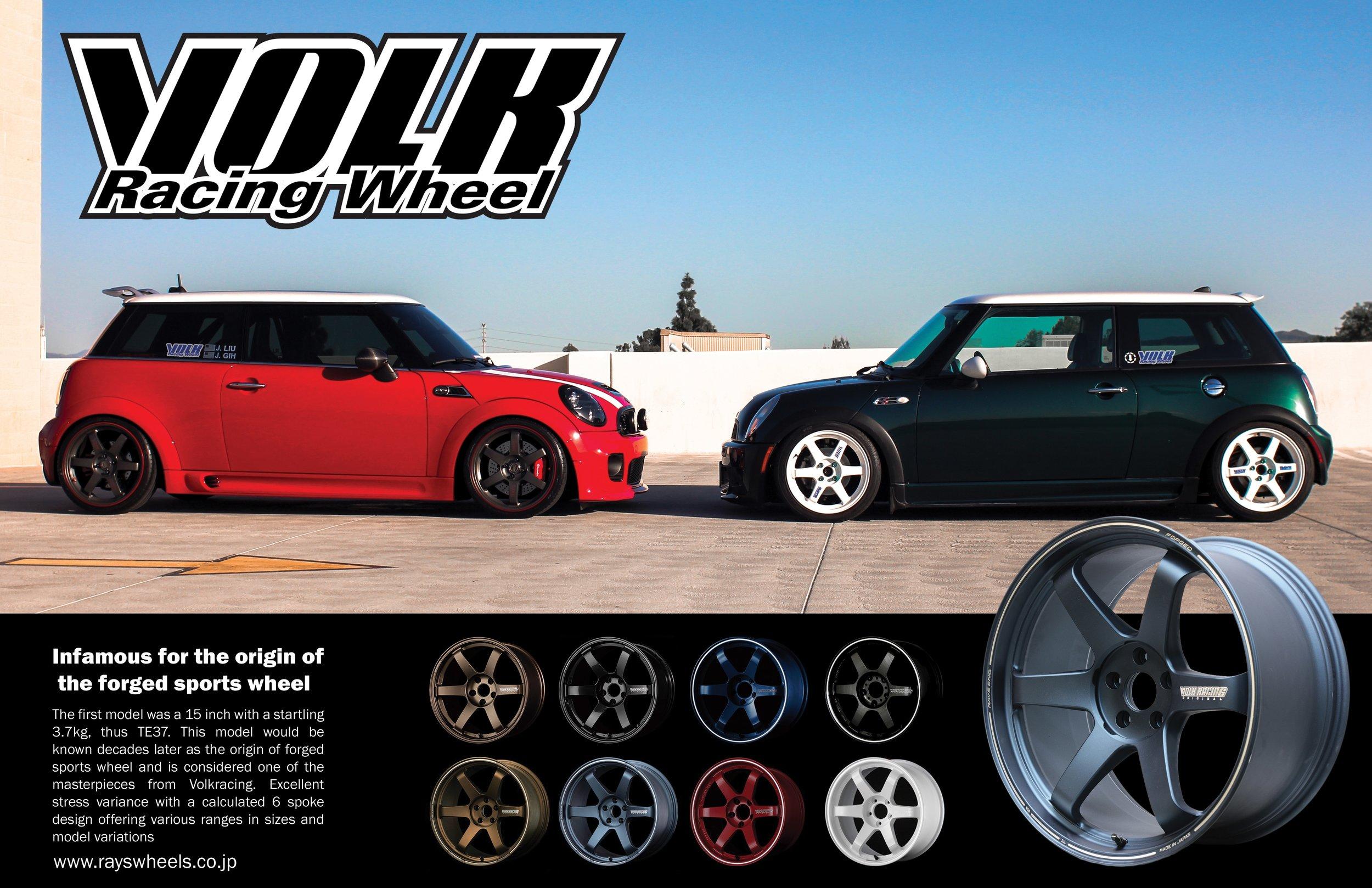 Mini Cooper and Volk Wheel's