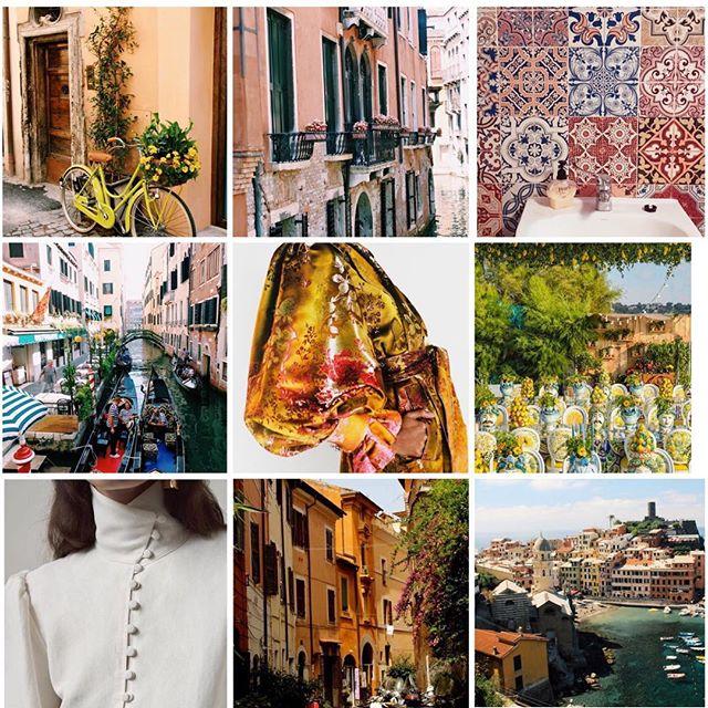 A little inspiration...✨ . . . . . . #fashion #fashiondesigner #fashiondesign #design #italy #italianriviera #colour #mediterranean