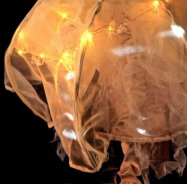 An old project ✨ . . . . #jellyfish #jelly #fish #lights #palau #jellyfishlake #lights #wearableart #design #designandtechnology