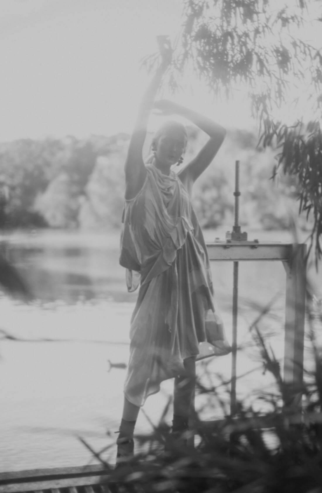 For  @pageone_magazine   The Drape Tuck Velvet Dress Photographer:  @ahsatankilleen   Model:  @chloe.wynne  @debutmanagement   Hair/Makeup:  @hilaryho_makeupartist    @stylist :  @paigemarygrace