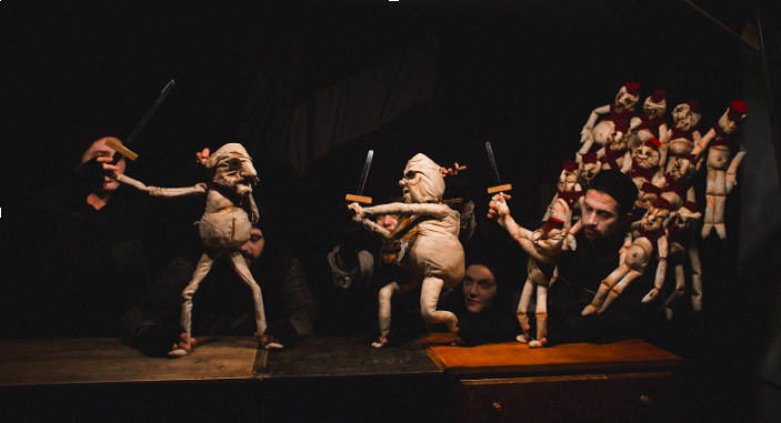 from Ubu the King by Rough House Theatre (Touring: Chicago, NY-2016, 2017)