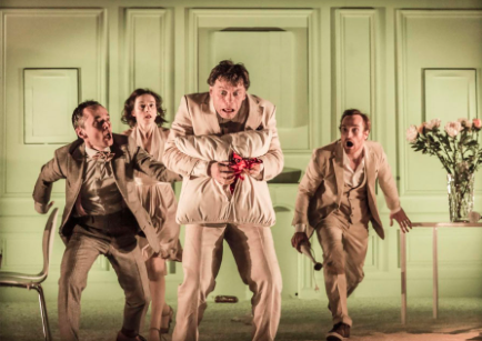 Cheek by Jowl's 2015 rendition of Ubu Roi.