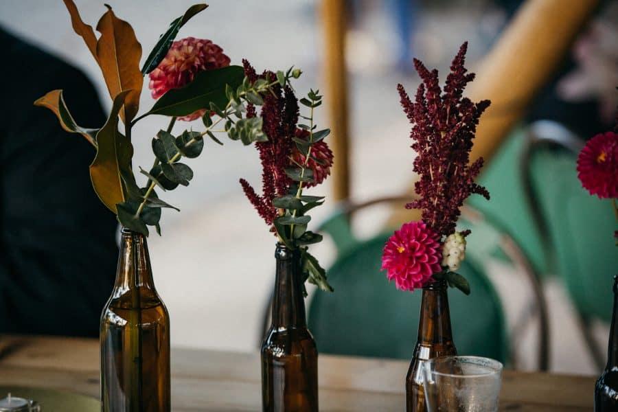 Queen of Stems. Castlemaine Florist. Wedding Flowers.