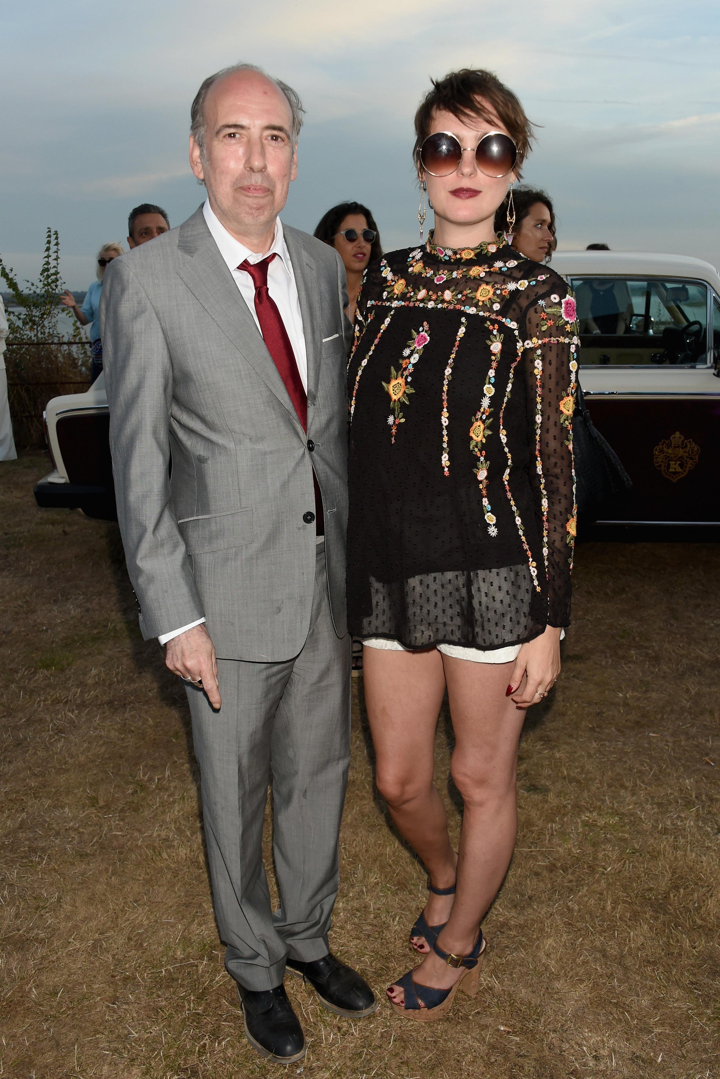Mick Jones and his daughter Lauren