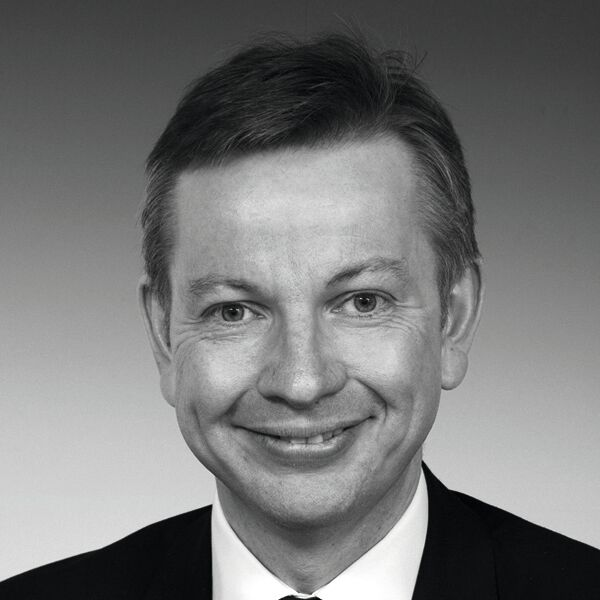 Michael Gove, British Conservative politician.