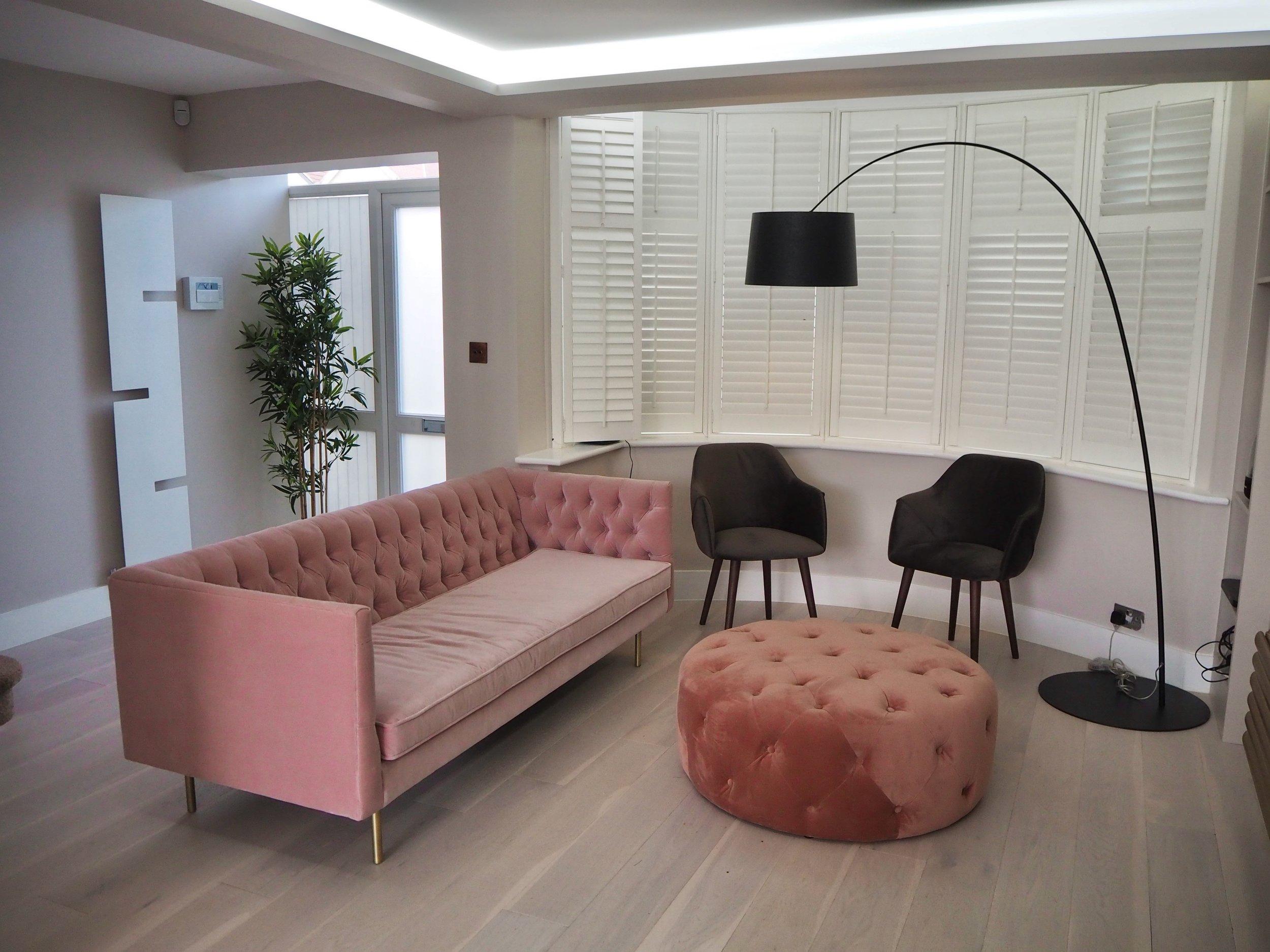 Duke of Design's latest London interior design project using MADE.COM furnishings