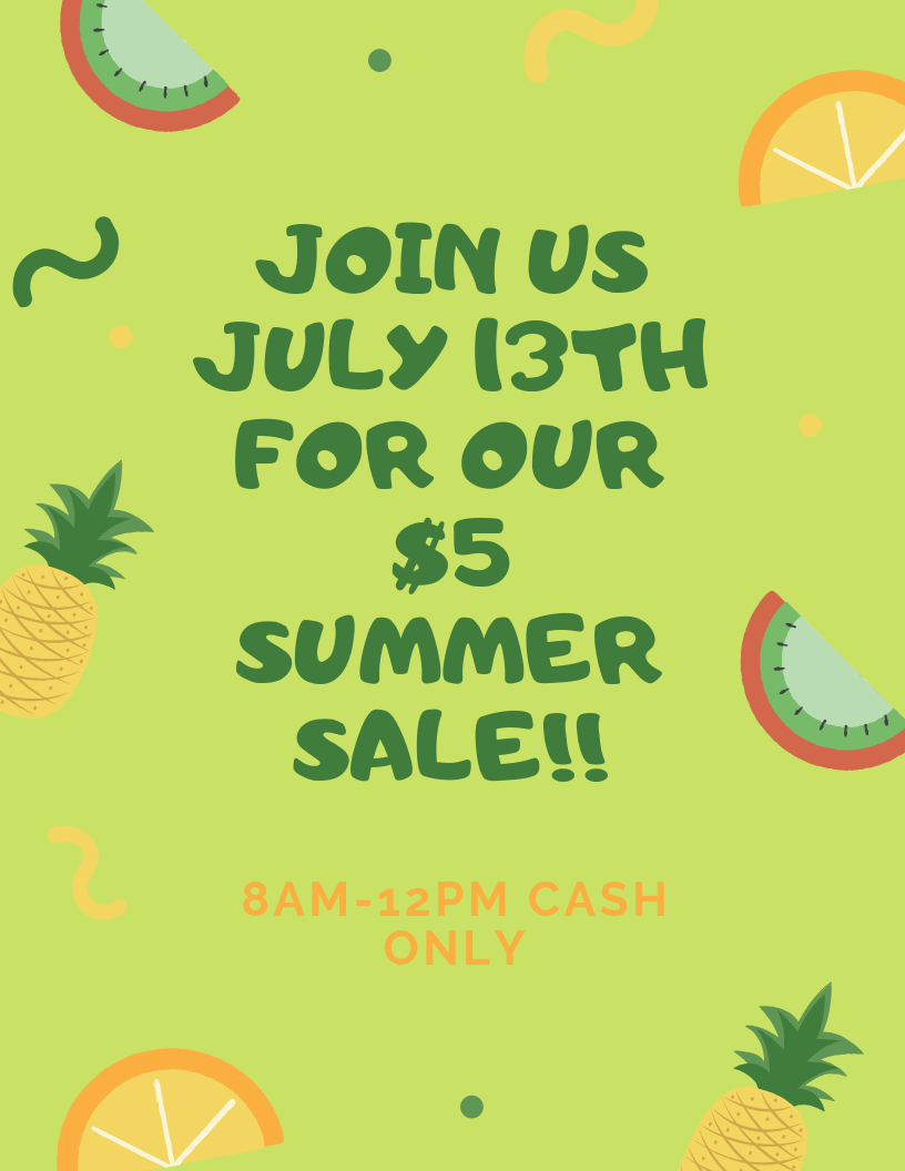 Join us July 13th for our $5 summer sale!!.png