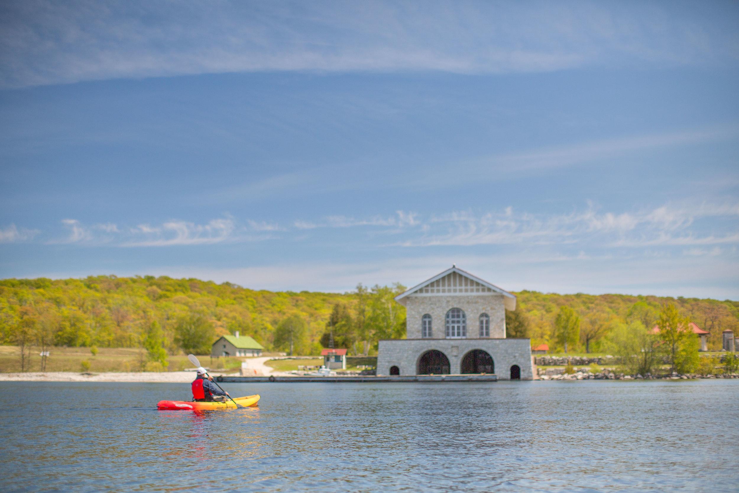 Rock Island Kayak Tours