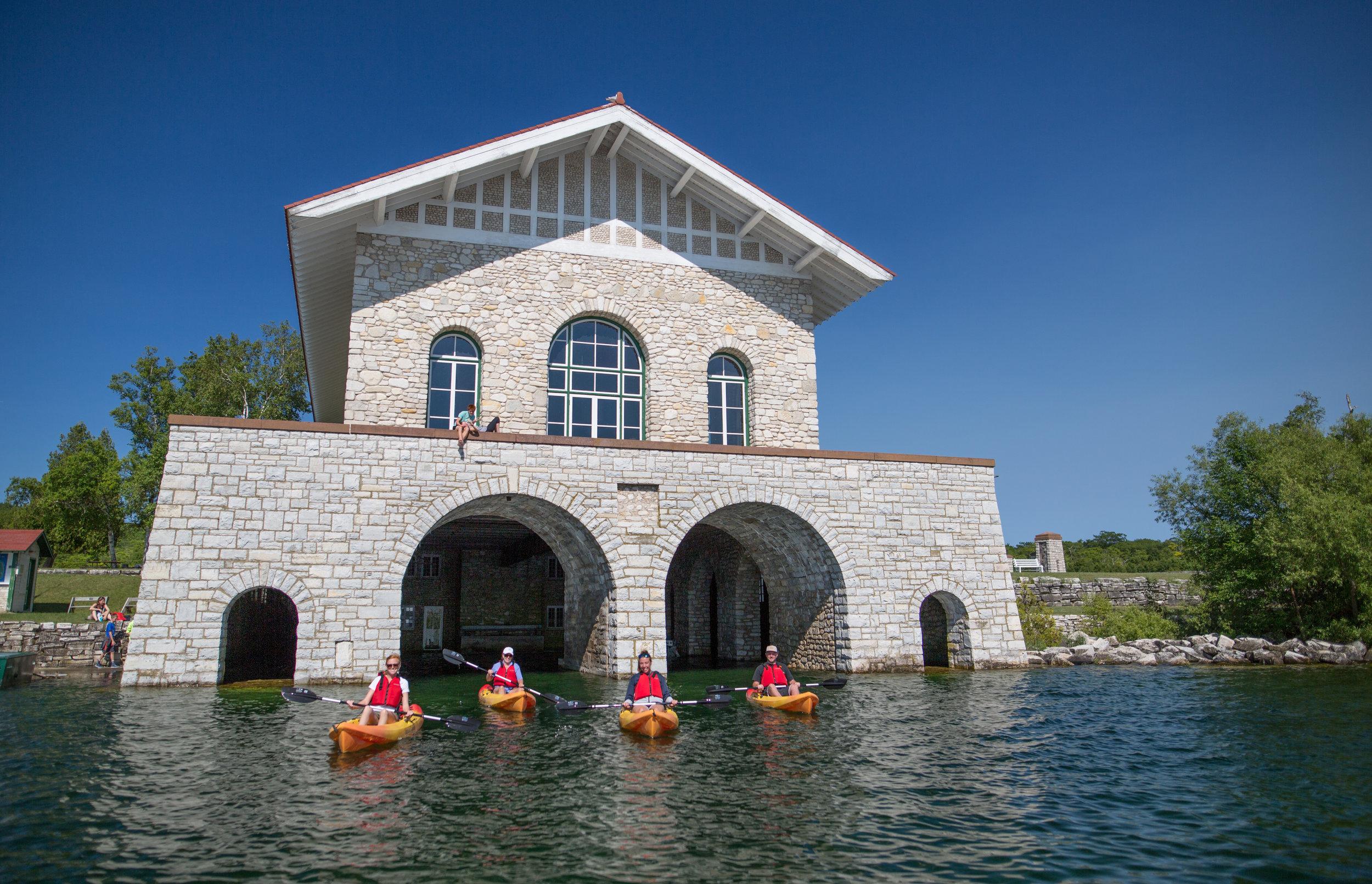 washington island kayak tours, door county kayak tours, washington island, door county , door county lodging
