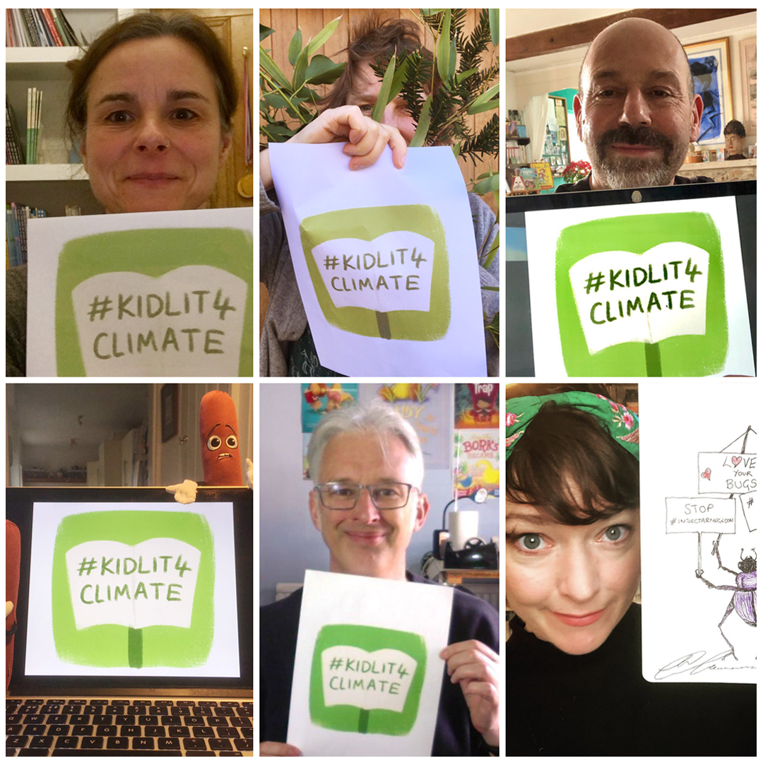 Authors!  Here are some fun ideas to show your support.  Take a pic of the logo or write out the hashtag and snap it with your book, or take a selfie with the logo like these award-winning children's authors -  Caryl Hart ,  Pippa Goodhart ,  Laurence Anholt   Michelle Robinson ,  Jonathan Emmett ,  M.G Leaonard   Download the Logo  PDF here  - Can also be used as a protest sign!