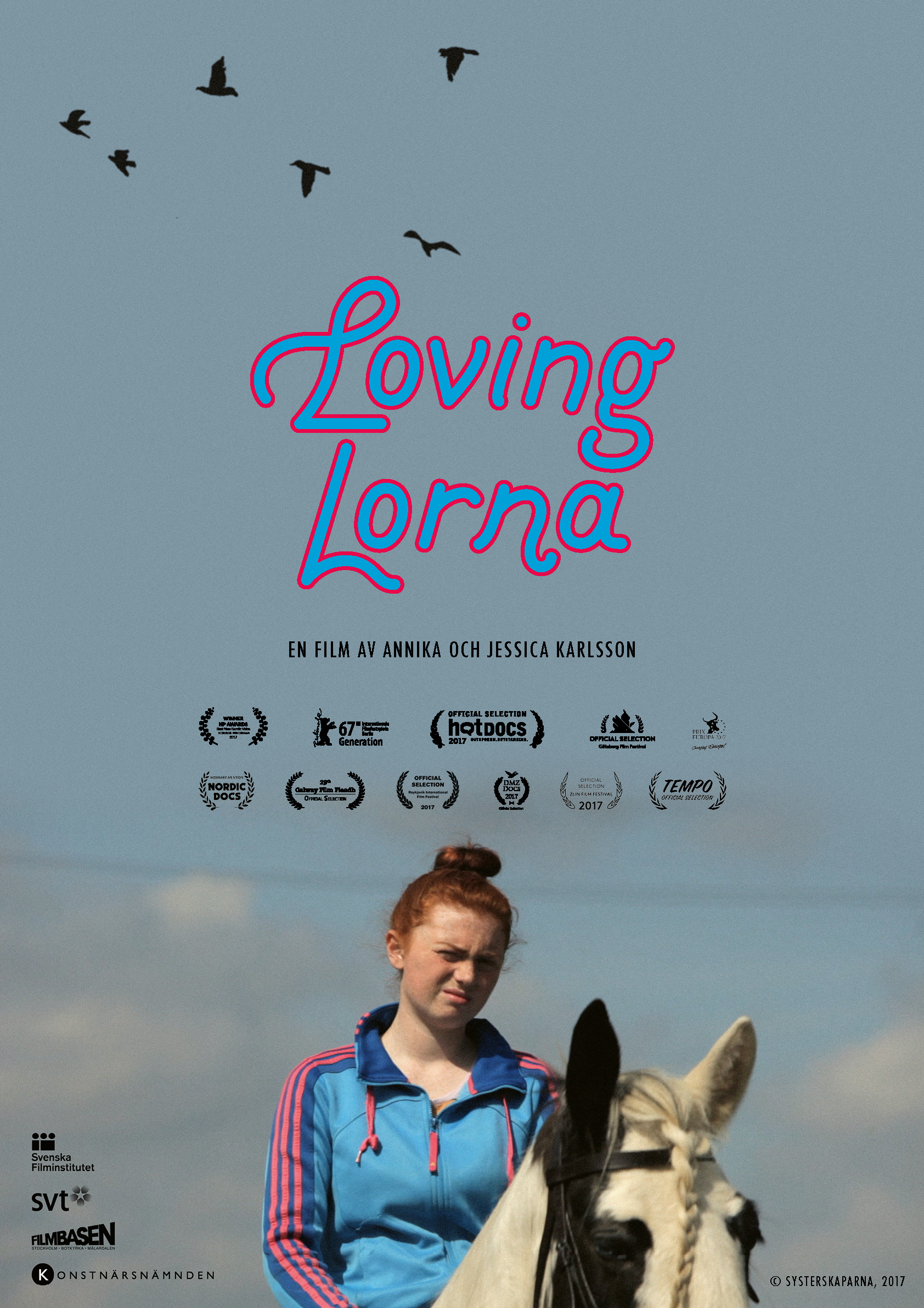 Buy a Loving Lorna poster! - We now have posters for sale, buy one and get some horsepower in your house!Size: 100 x 70 cm. Price: 230 kr (within Sweden) Contact us here!