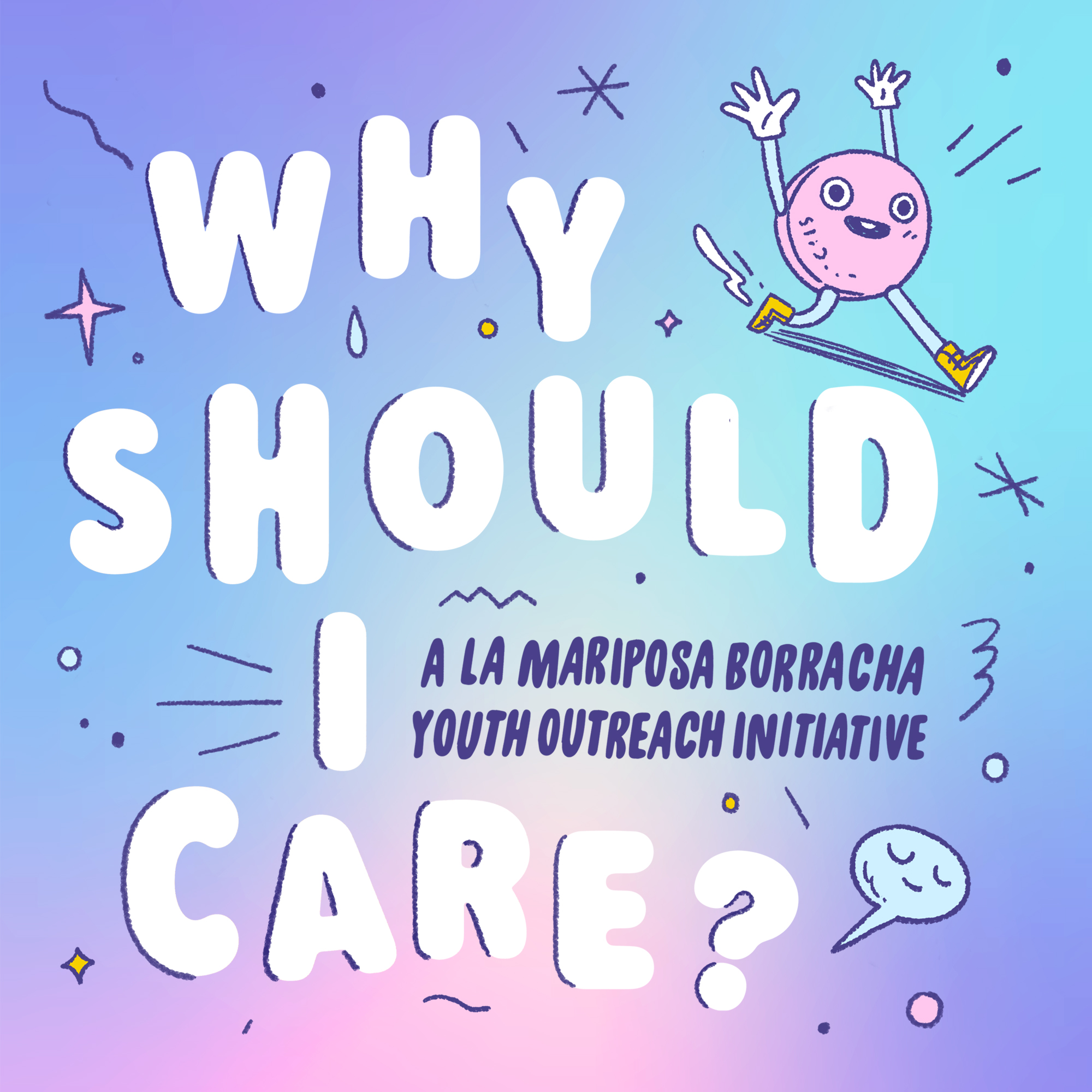La Mariposa Borracha Outreach Initiatives - WHY SHOULD I CARE? is an engagement programme created in conjunction with the production of La Mariposa Borracha. It is an outreach initiative by youth, for youth, to encourage open dialogues about coping with illness.The dialogue comes in two platforms :