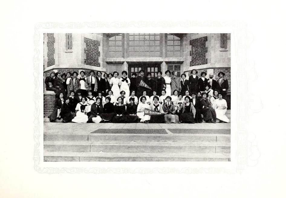 Thalian Literary Society 1913