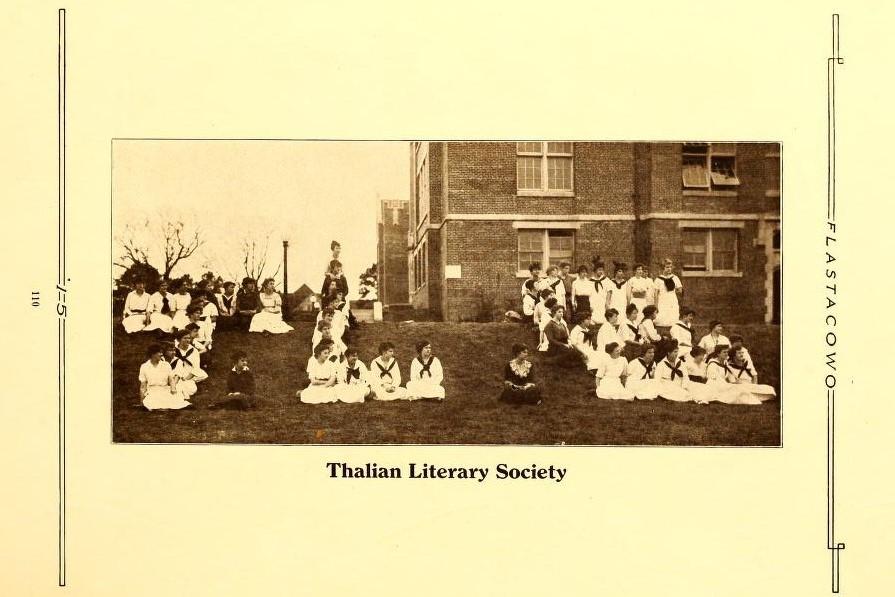 Thalian Literary Society 1915