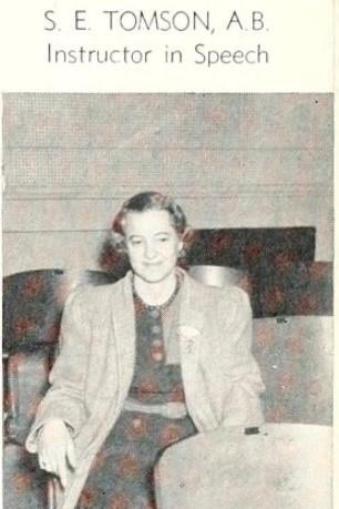 Elizabeth Thompson 1941