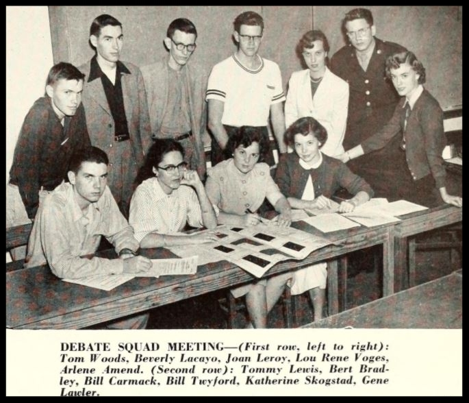 1952 - 1953 Florida State Debate Team