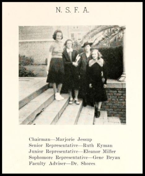 1938 - 1939 N.S.F.A. Committee