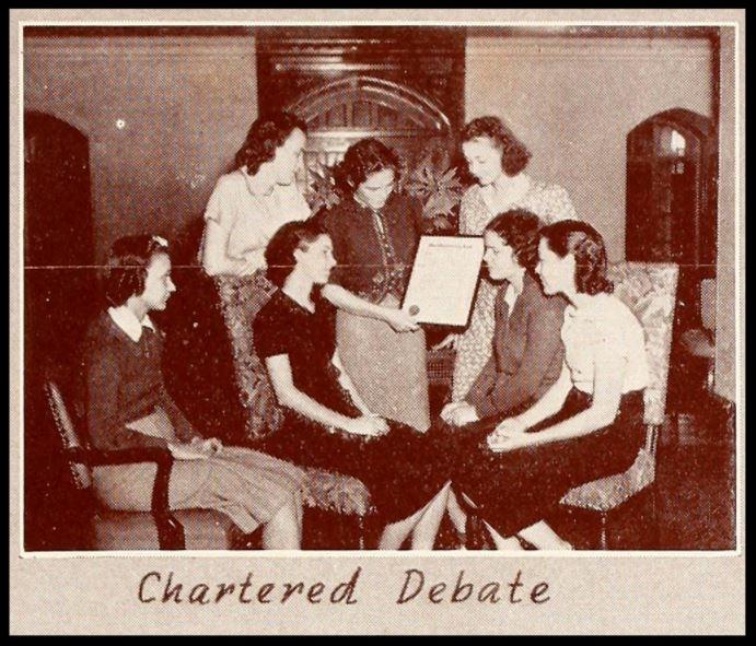 "1939 Delta Epsilon Alpha ""Strawberry Leaf"" Charter"