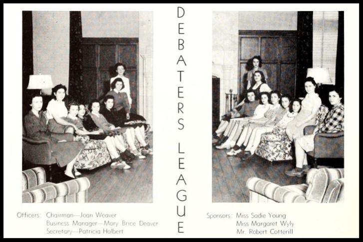 1940 - 1941 Debaters League
