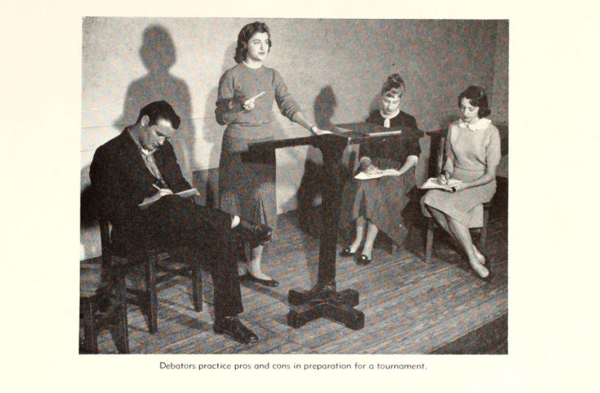 1957 - 1958 - Florida State Debate Team