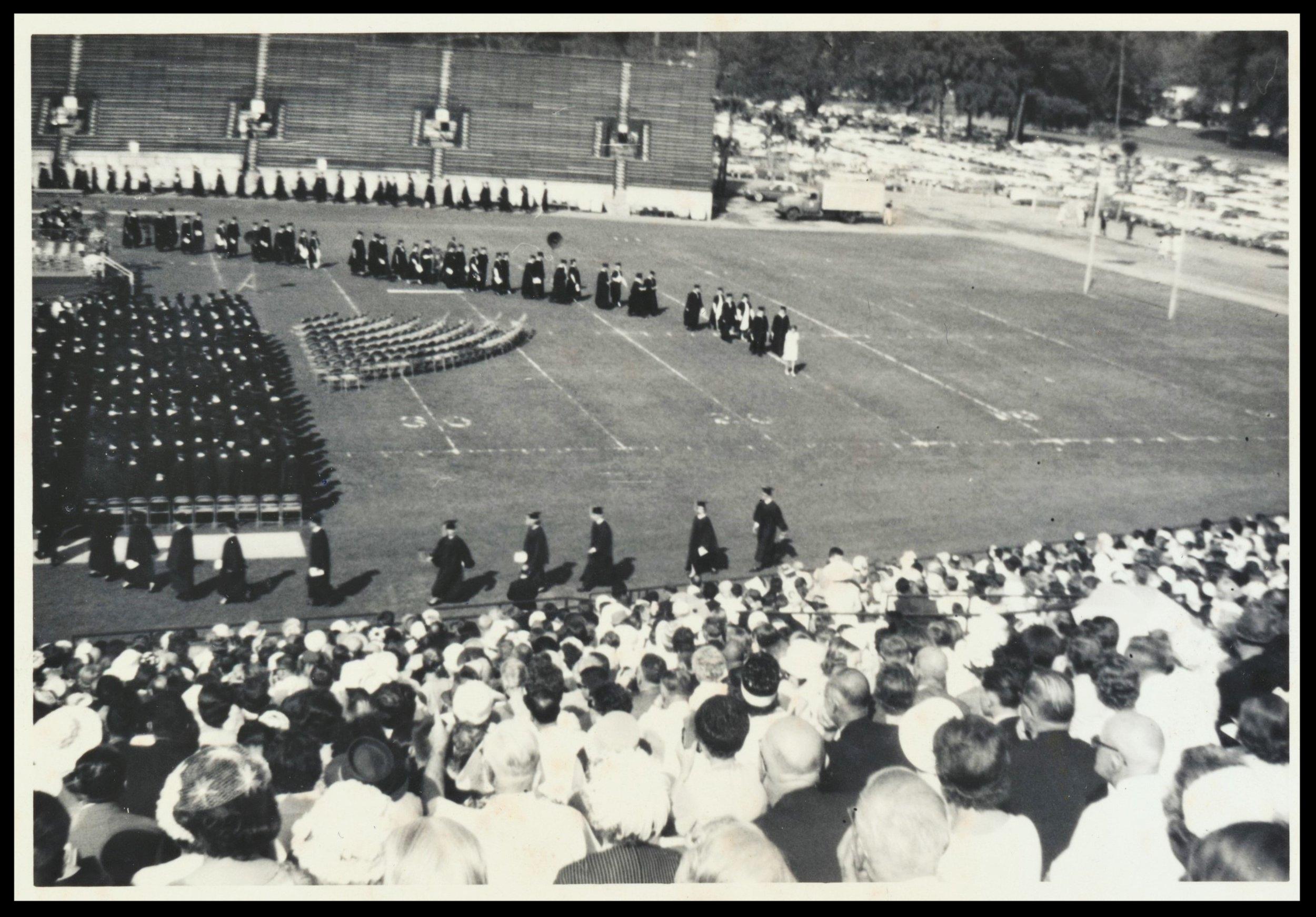 Dr. Young's FSU Graduation Ceremony