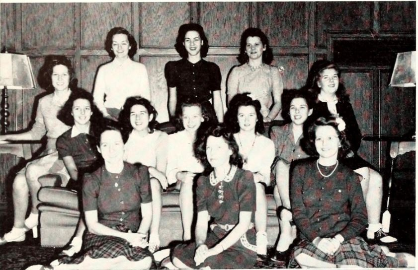 1942 Florida State College for Women Debate Team