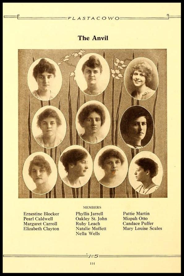 1914-1915 The Anvil