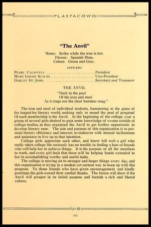The Anvil Officers & Song