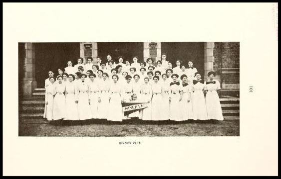 Minerva Club 1909 - 1910