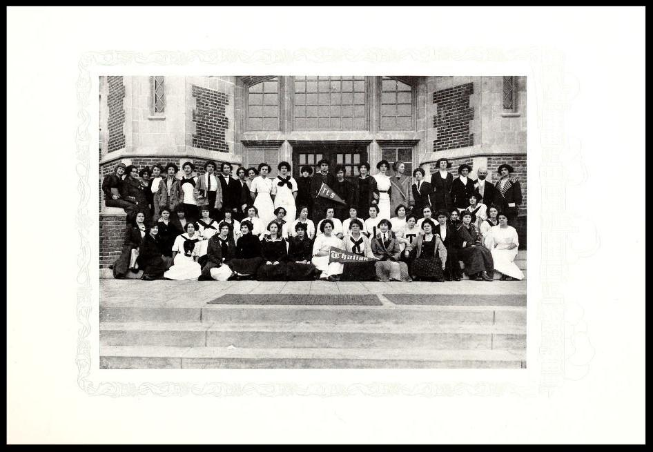 1912-1913 Thalian Literary Society