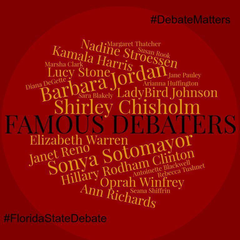 #DebateMatters #FamousDebaters 1
