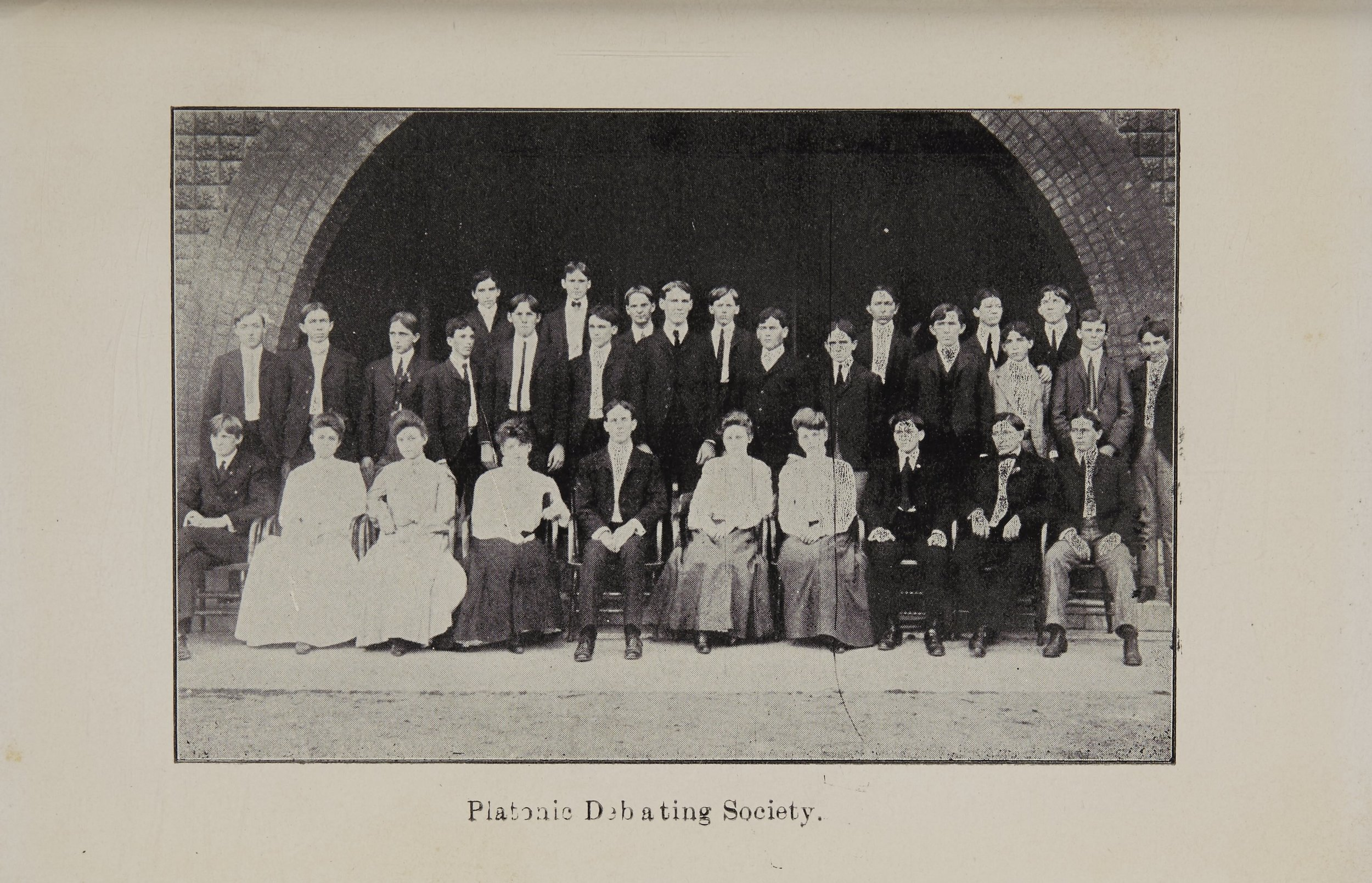 Platonic Debating Society - 1903 - 1904