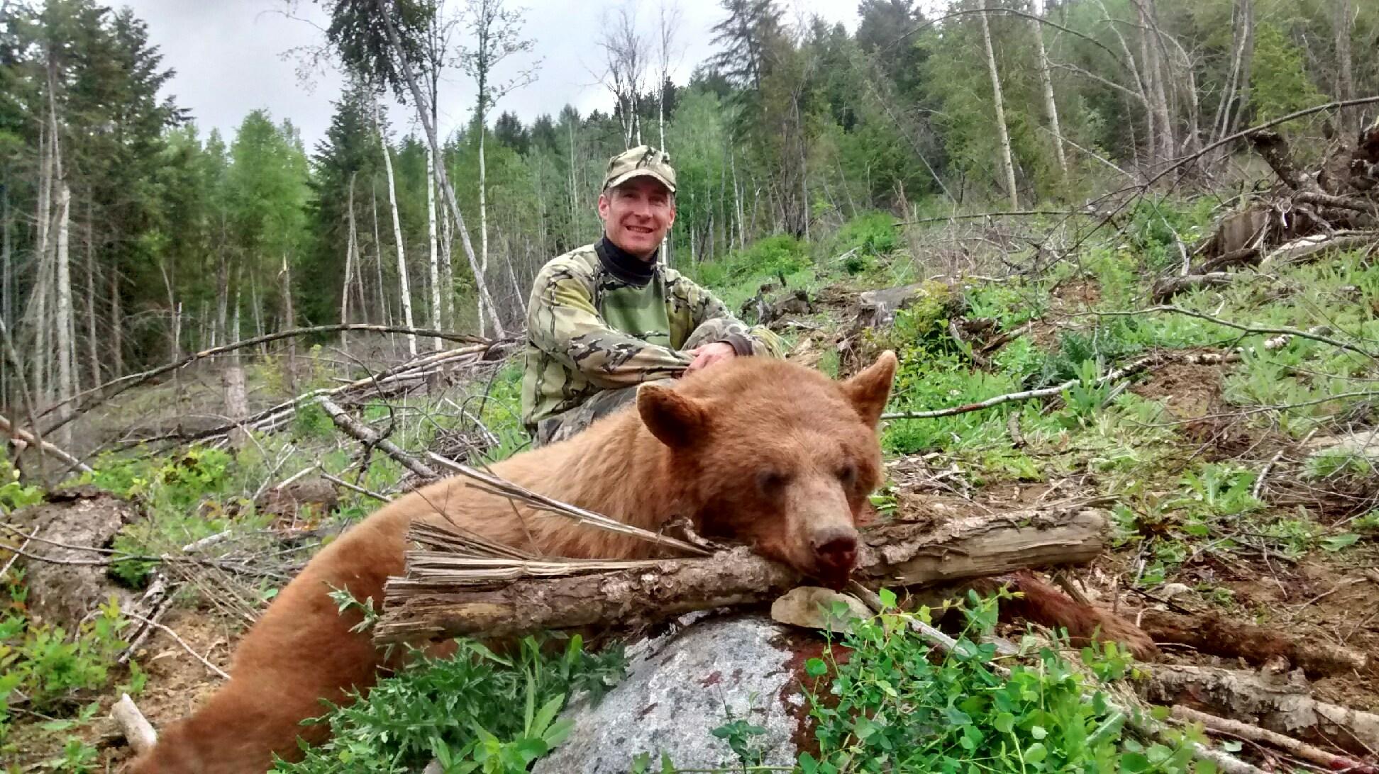Washington State- Spring Bear, 2016   423 yards, Savage LRH 7mm Rem Mag