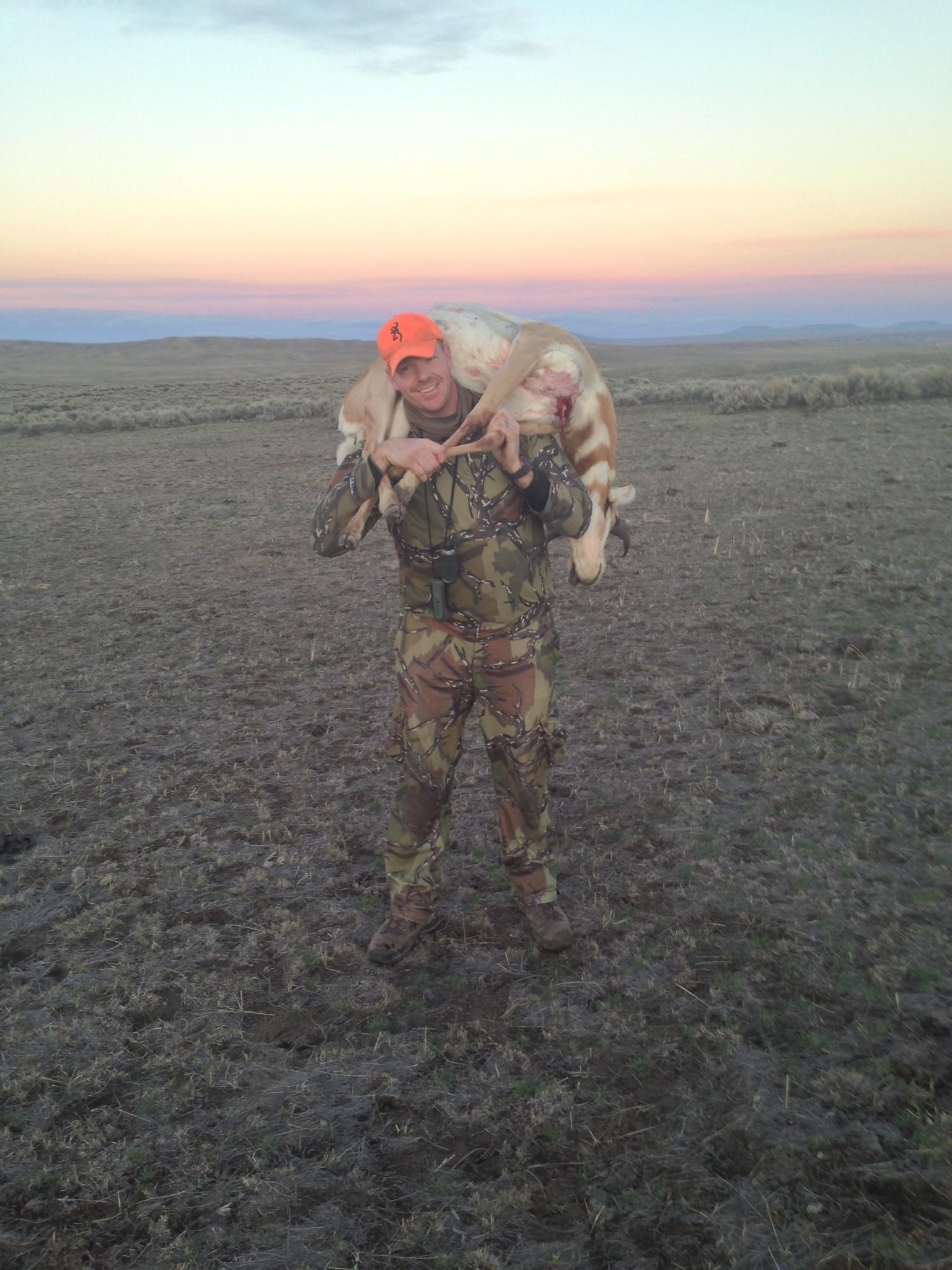 Wyoming- Pronghorn, 2015