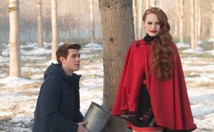 Cheryl: What if I forget how to tap a tree?  Archie: Nonsense! It's just like riding a bike!