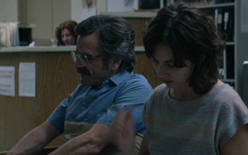 Sam Sylvia (Marc Maron) and Ruth Wilder (Alison Brie)