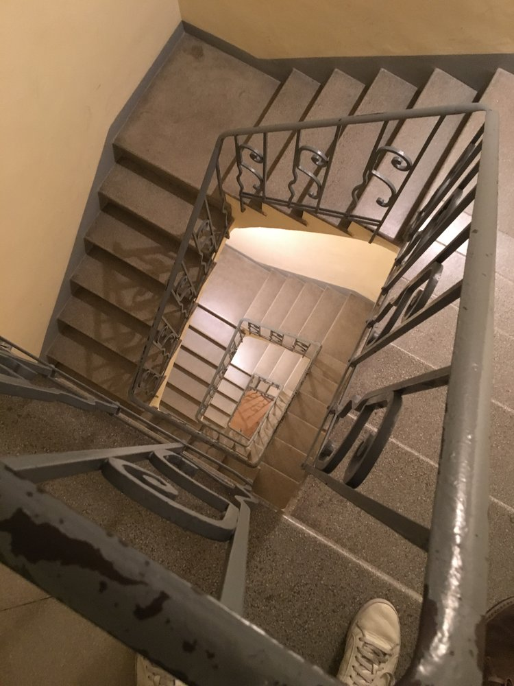 You should not expect to have elevators. Stairs are a great work out, especially carrying your bags!
