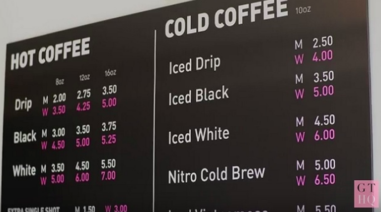 Video raises awareness about Pink Tax; shop charges women more than men - A social experiment at a Toronto coffee shop is raising awareness about the so-called Pink Tax, where women are charged more than men for the same products or services.
