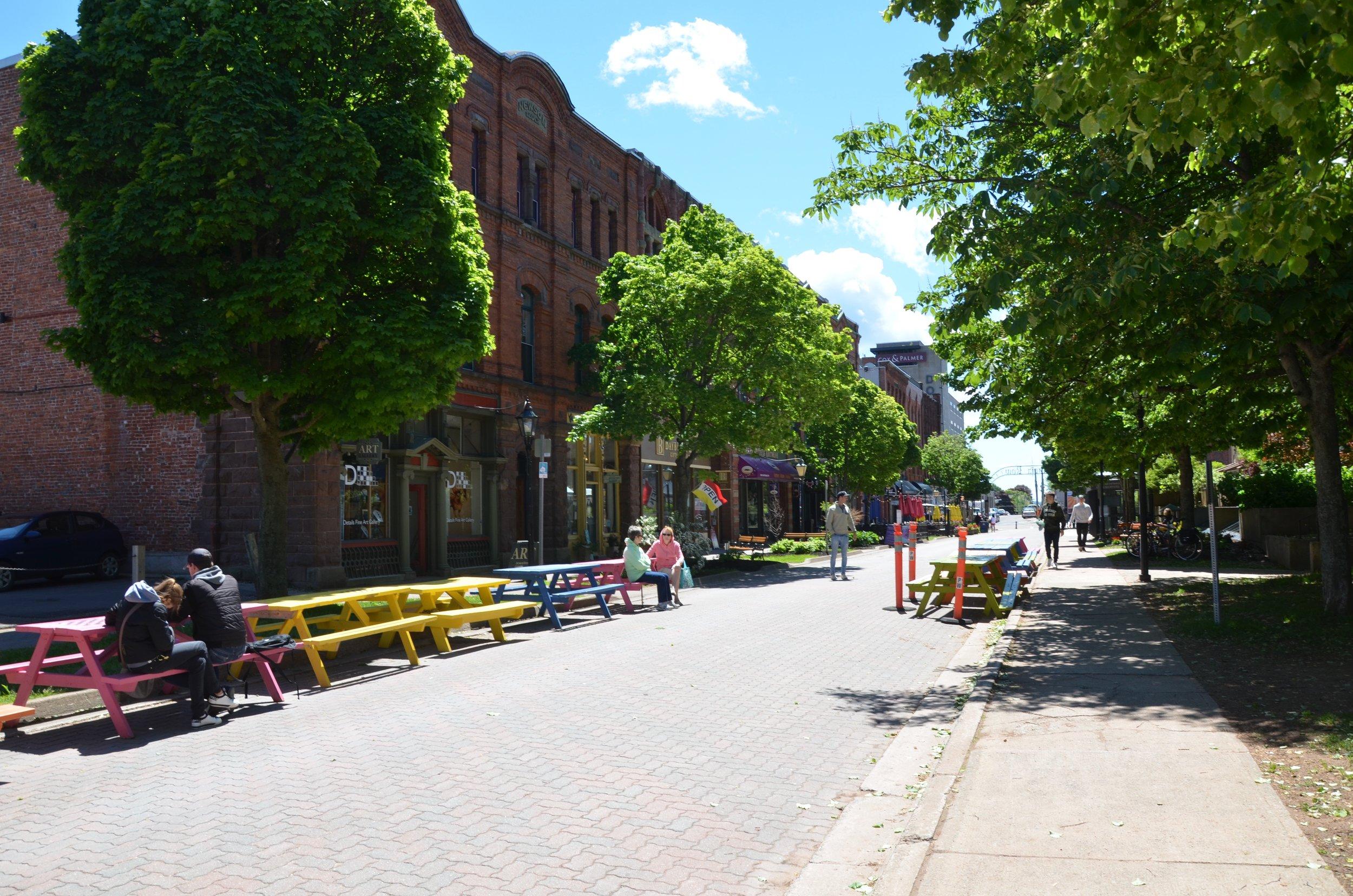 Victoria Row in Charlottetown