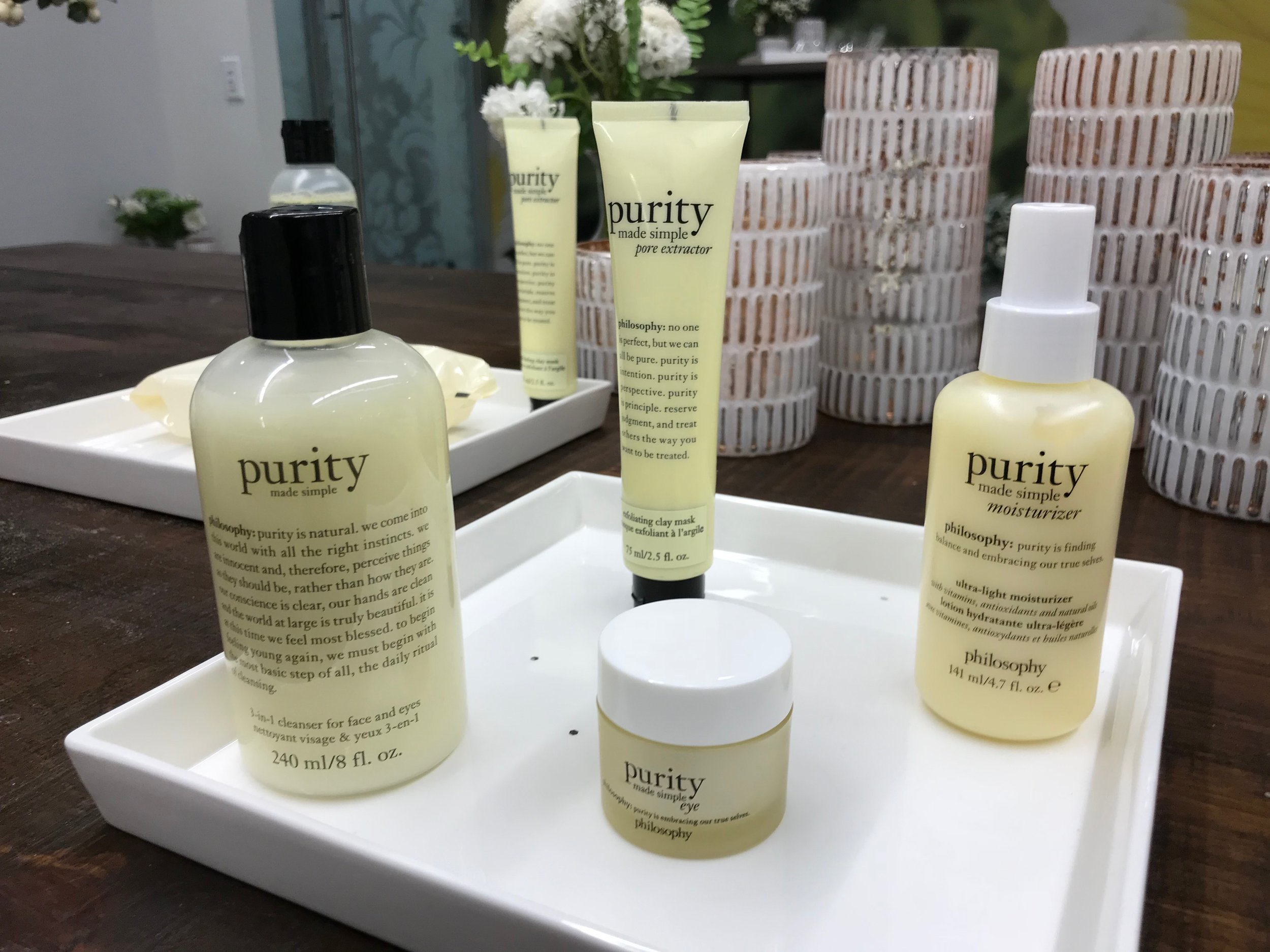 The Purity line will be adding eye cream to their collection.