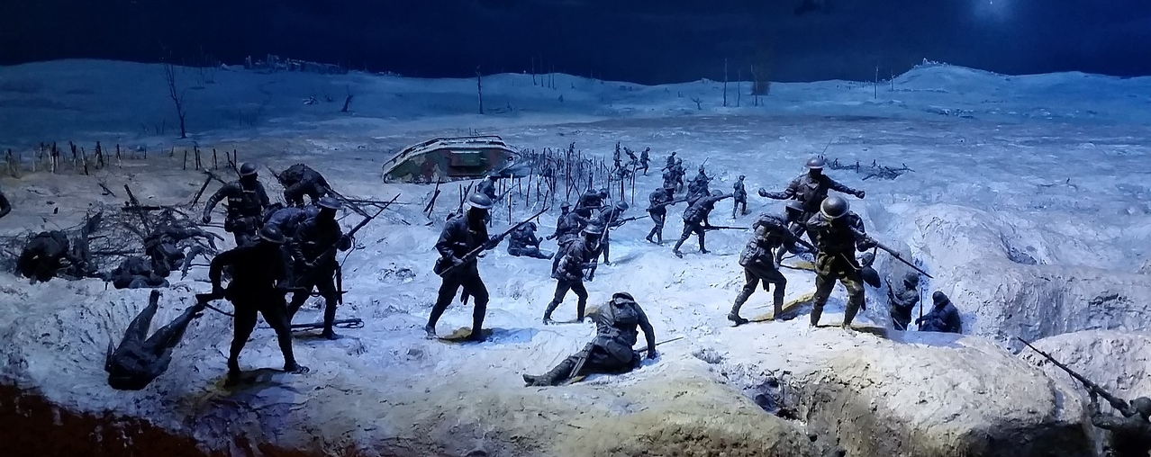 The first world war has a crucial importance in shaping Tolkien's creating process