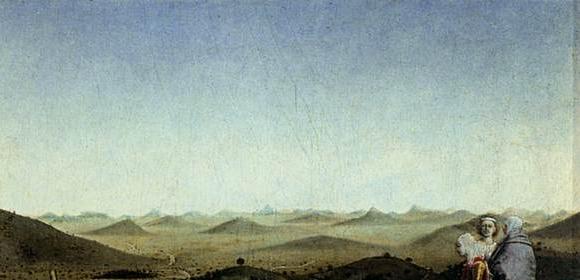 Bonnefoy's back country, Piero della Francesca