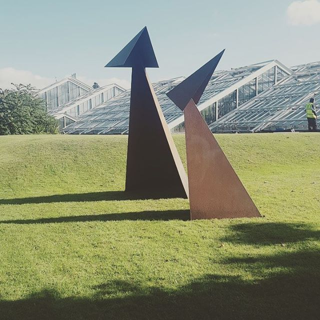 The #handmadeinbritain team created something really special with #sculptatkew. Proud to be part of this sublime collection of works. #kew #dontmissit #art #london #sculpture.