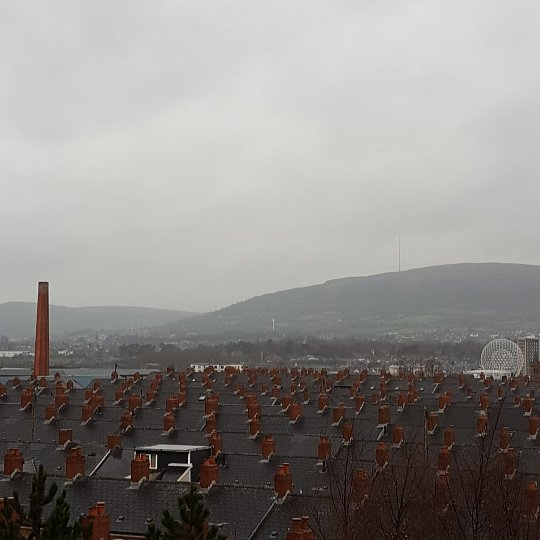 #Belfast in the rain this morning. #lovebelfast