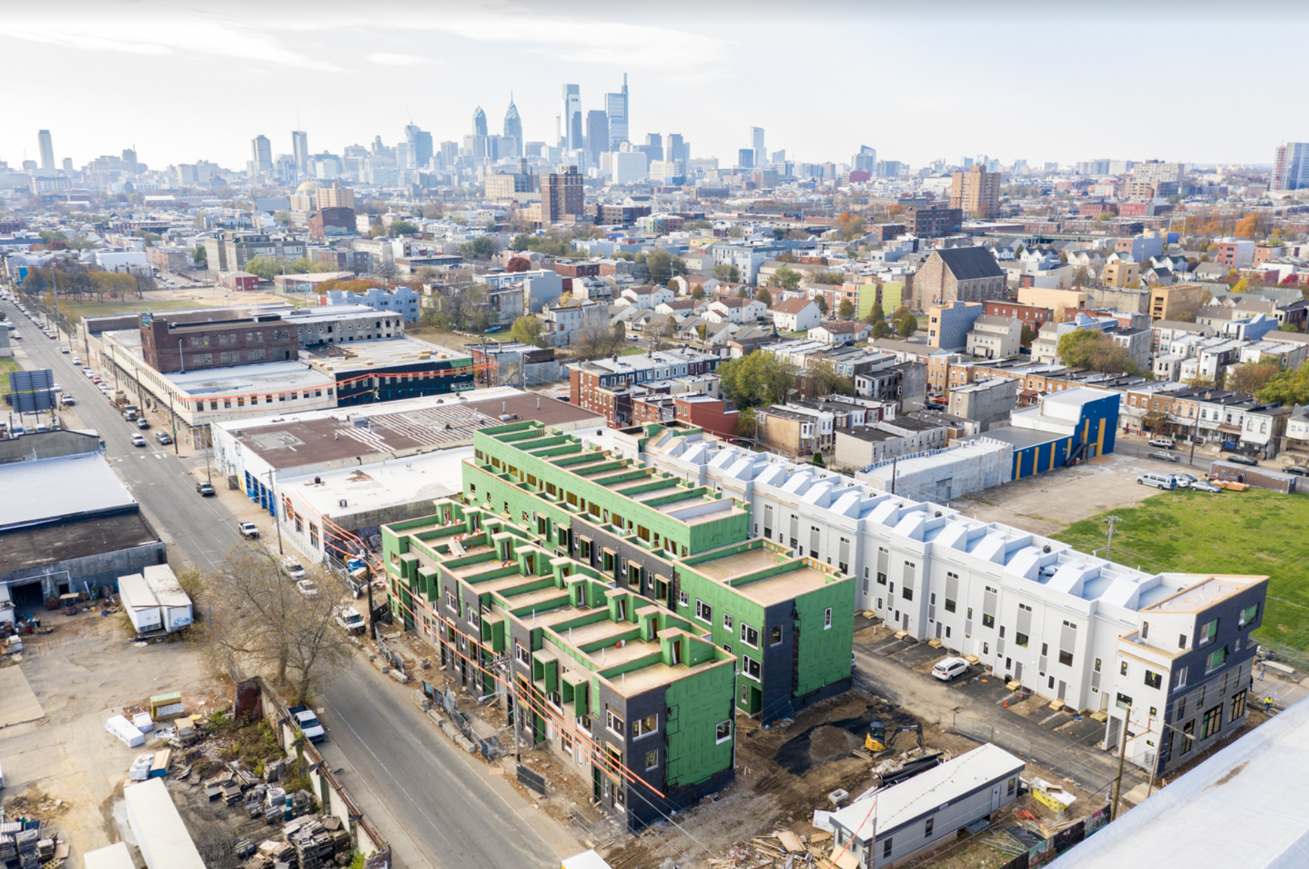 Olde Kensington 19122 - N5 Square offers luxury new construction located in booming Olde/South Kensington contains 57 units within walking distance to Fishtown & Northern Liberties.