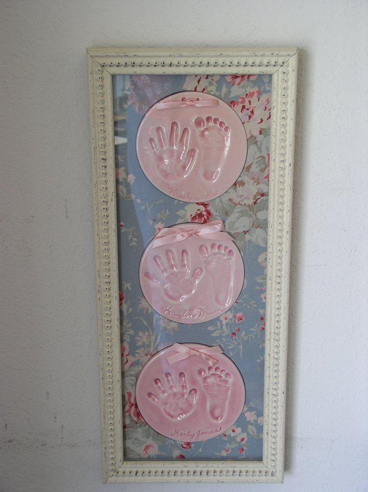 Children's Ceramic Hand & Foot Prints
