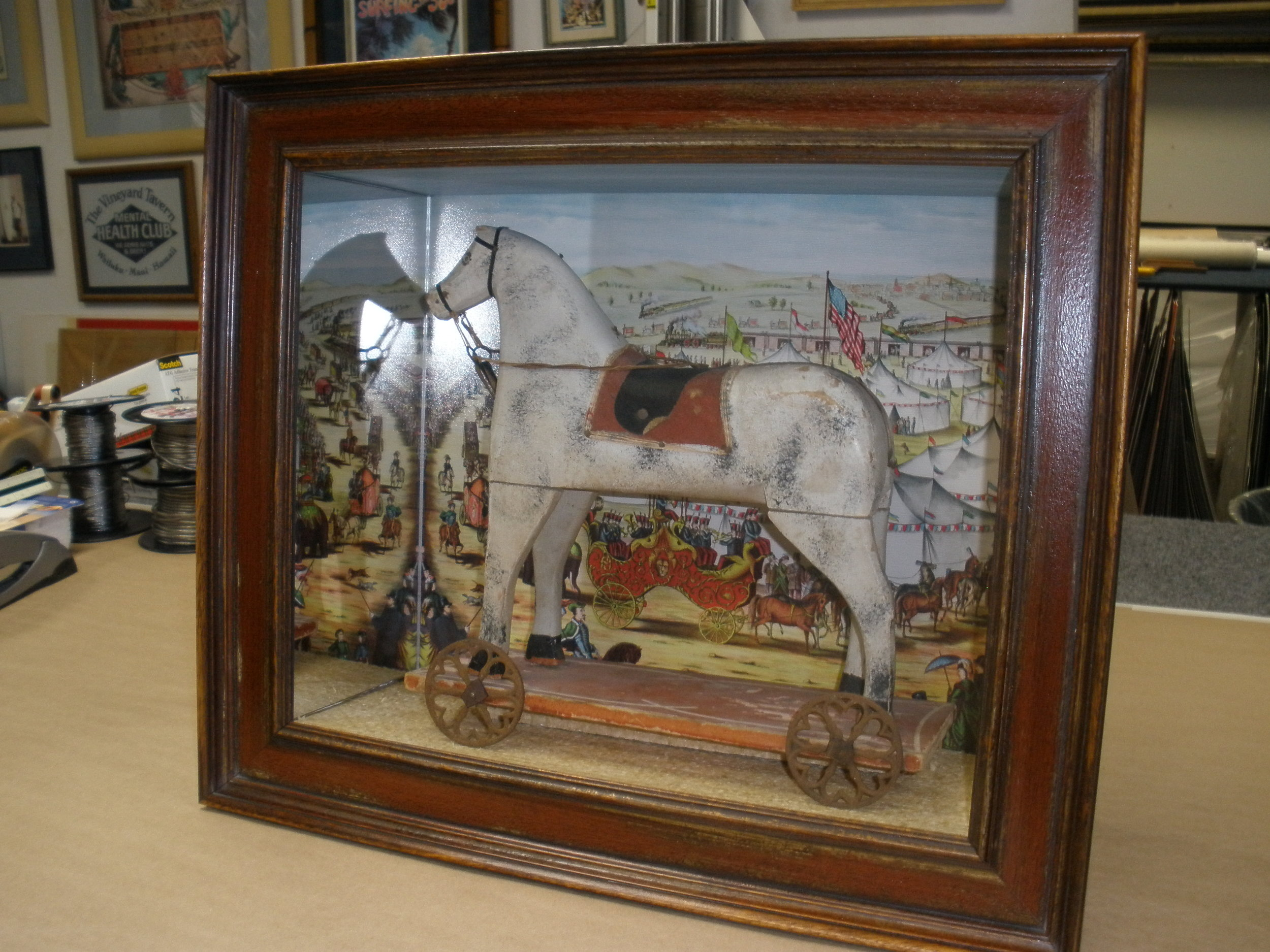 Antique Toy Horse