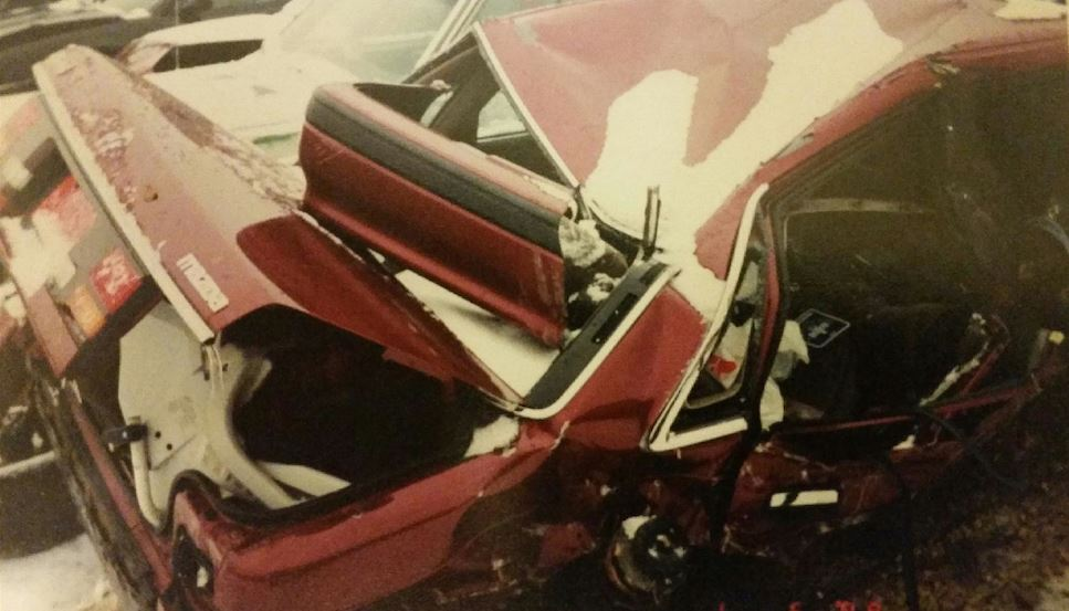 Car Accident/I was in the back seat/Emily the front passenger passed away/RIP Emily